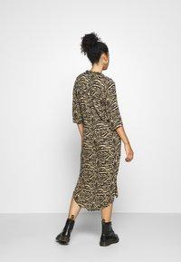 Soaked in Luxury - ZAYA DRESS - Day dress - beige - 2