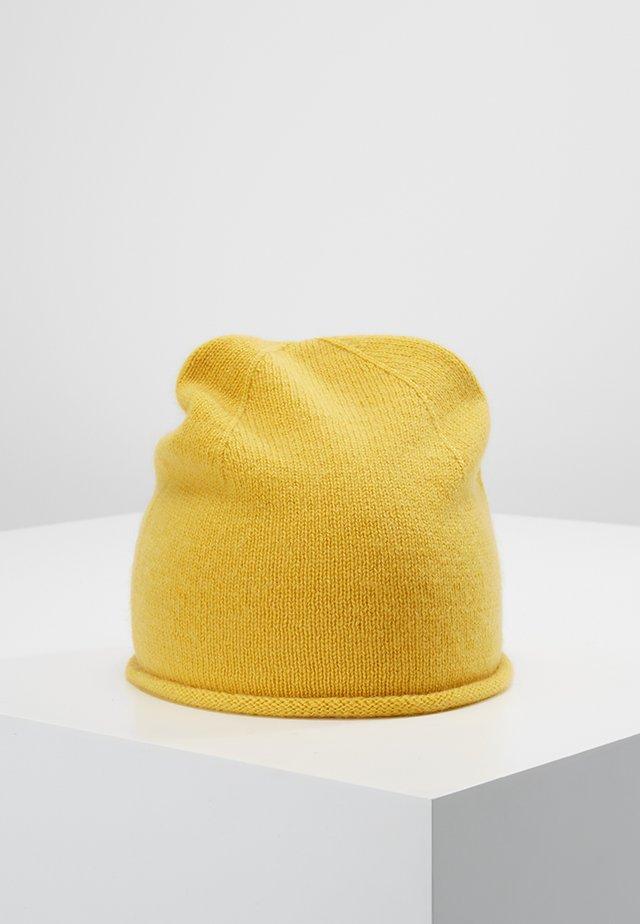 CASHMERE - Bonnet - mustard