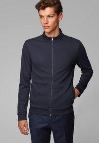 BOSS - SKILES 02 - Zip-up hoodie - dark blue - 0
