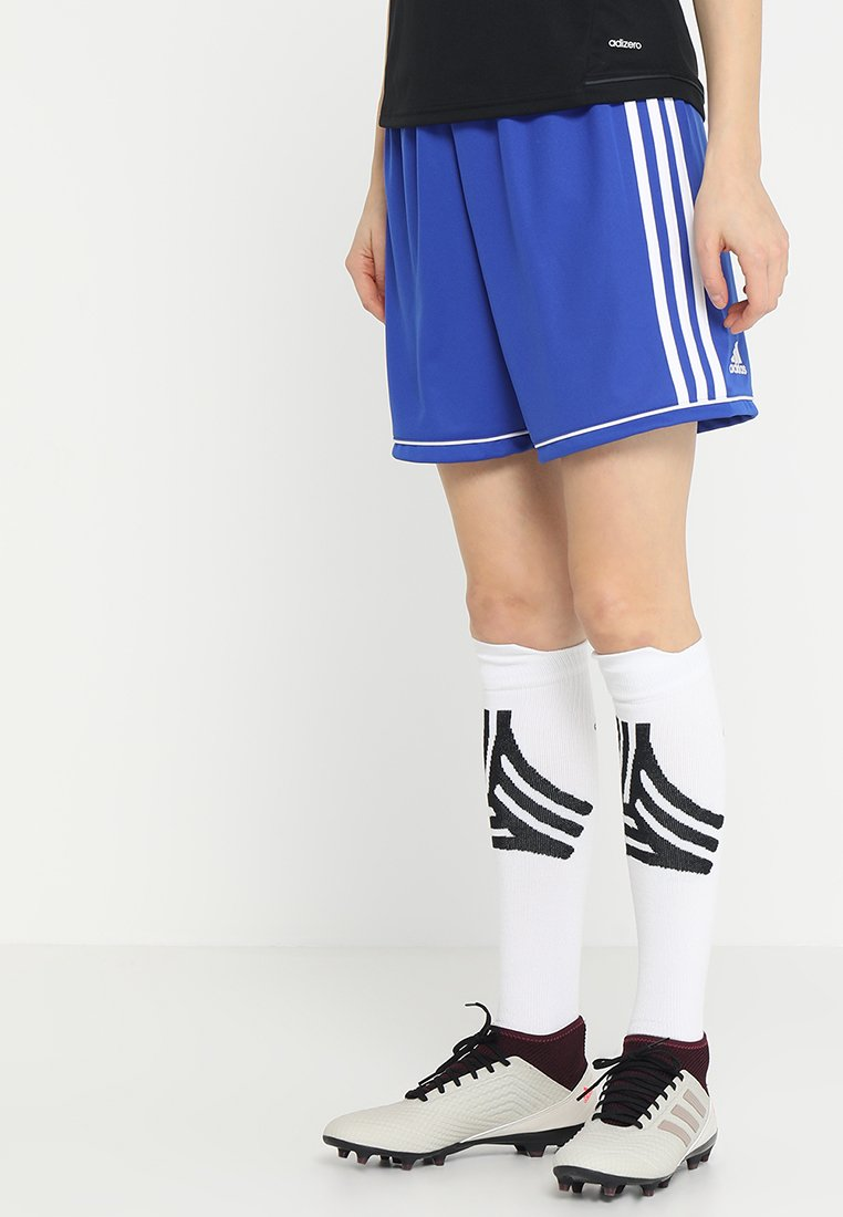 adidas Performance - SQUADRA CLIMALITE FOOTBALL 1/4 SHORTS - Sports shorts - boblue/white