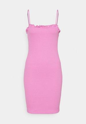 PCTEGAN STRAP DRESS - Vestido informal - cyclamen