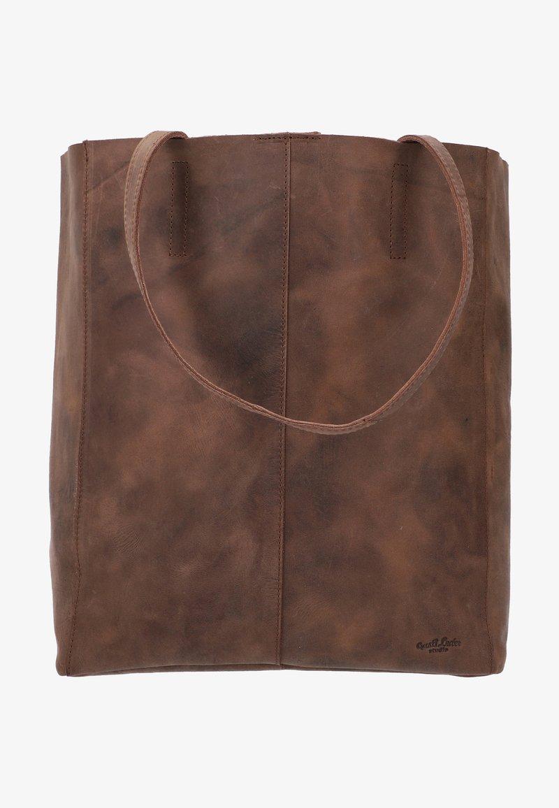 Gusti Leder - Tote bag - dark brown