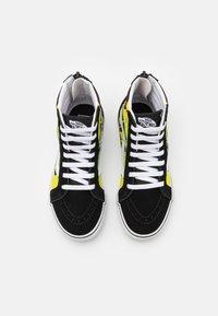 Vans - SK8 ZIP - High-top trainers - black/true white - 3