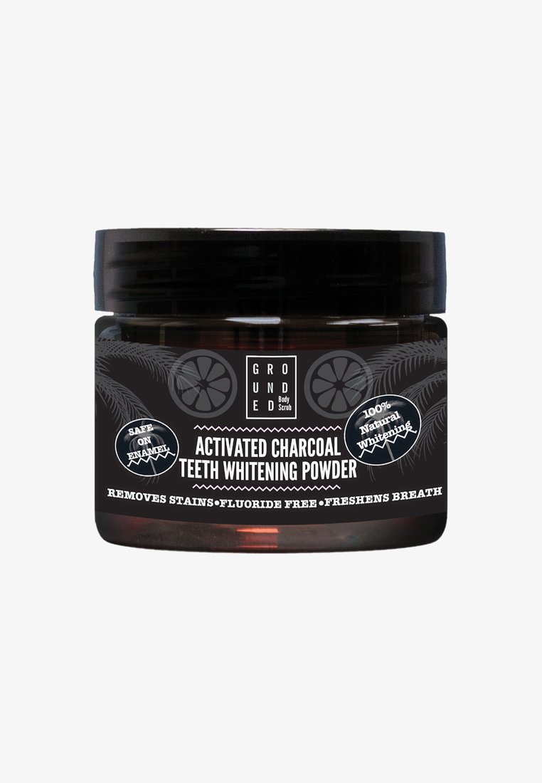 Grounded - ACTIVATED CHARCOAL TEETH WHITENING POWDER - Soin dentaire - charcoal