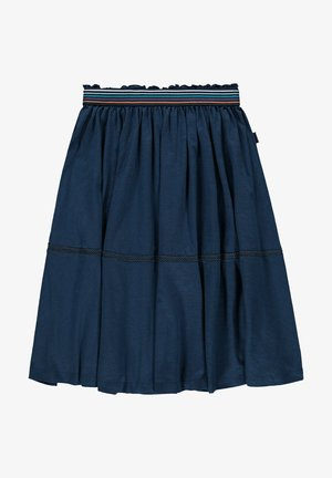 A-line skirt - petrol blue