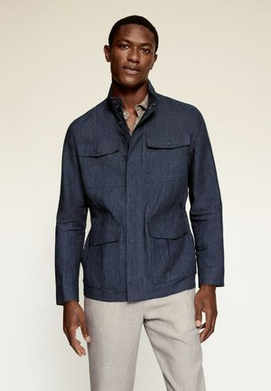 Summer jacket - bleu indigo