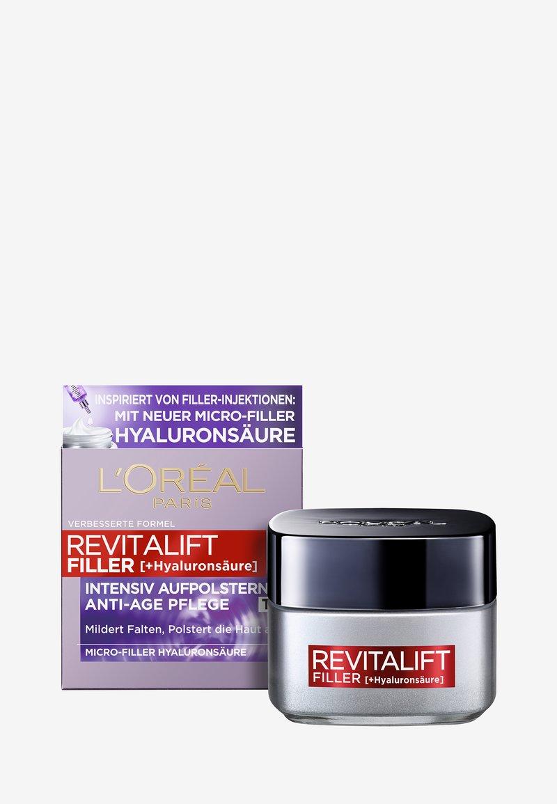 L'Oréal Paris Skin - REVITALIFT FILLER ANTI-AGE DAY CREAM - Anti-Aging - -