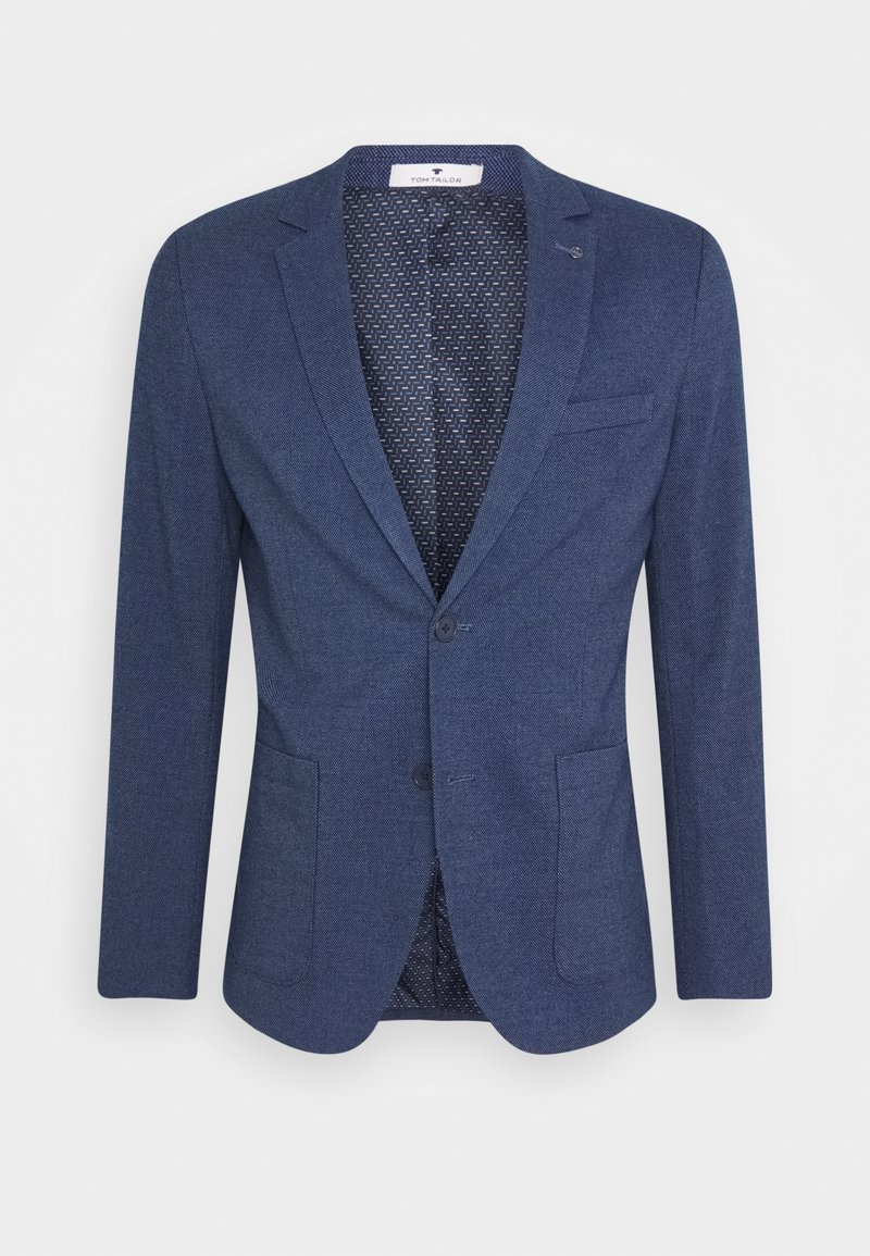 TOM TAILOR - DOBBY - Suit jacket - blue