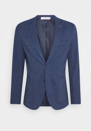 DOBBY - Suit jacket - blue