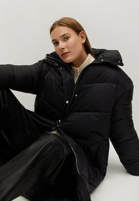 Mango - KELLOGS - Winter coat - noir - 5