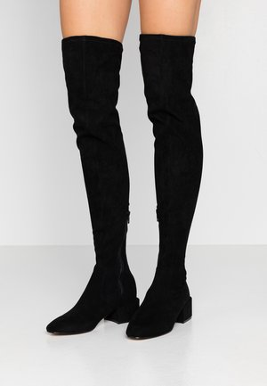 TEXAS BOOT - Overknee laarzen - black