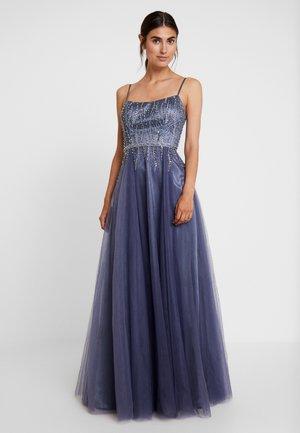 Společenské šaty - graublau