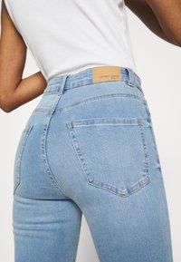 Gina Tricot - HIGHWAIST - Jeans Skinny Fit - sky blue - 4
