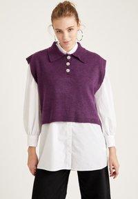 DeFacto - Pullover - purple - 0