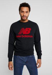 New Balance - ATHLETICS STADIUM CREW - Sweatshirt - black - 0