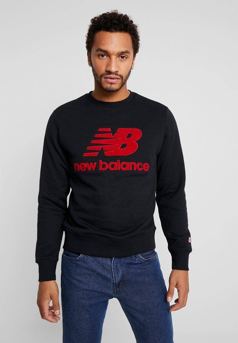 New Balance - ATHLETICS STADIUM CREW - Sweatshirt - black