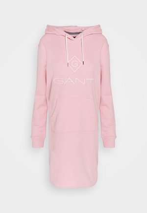 LOCK UP HOODIE DRESS - Vestito estivo - preppy pink