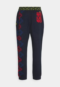 Carlo Colucci - UNISEX - Tracksuit bottoms - navy - 7