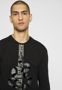 Glorious Gangsta - DEVANEYLONGSLEEVE TEE - T-shirts basic - black - 3