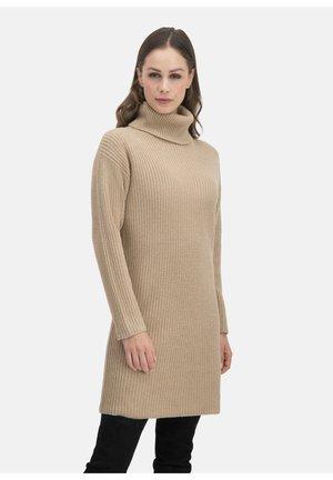 BONOWA - Jumper dress - beige