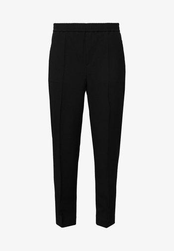 FIONA PEG - Kalhoty - black
