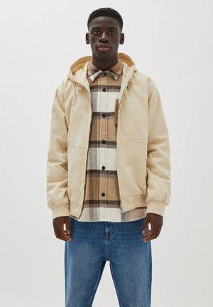 PREMIUM - Zip-up sweatshirt - off-white