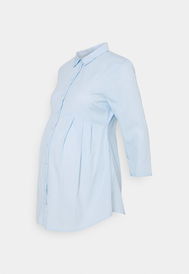 Anna Field MAMA - Blouse - Button-down blouse - light blue