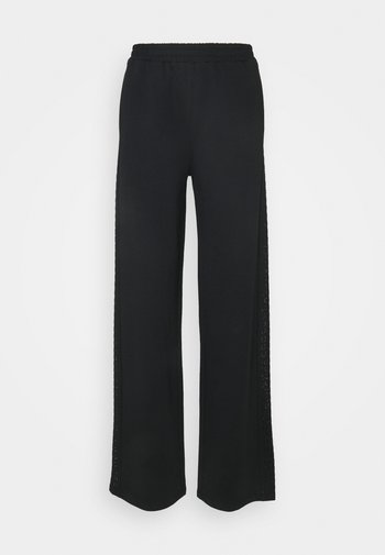 PANT FELPA - Trousers - nero
