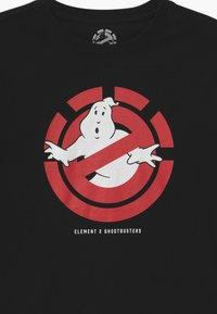 Element - GHOSTLY BOY - Print T-shirt - flint black - 2