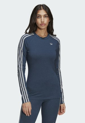 FAKTEN LONG SLEEVE TEE - T-shirt à manches longues - blue