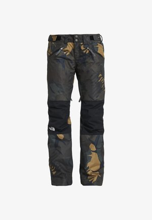 ABOUTADAY PANT - Snow pants - new taupe green/black