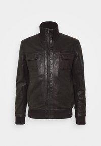 Serge Pariente - DANY - Leather jacket - brown - 5