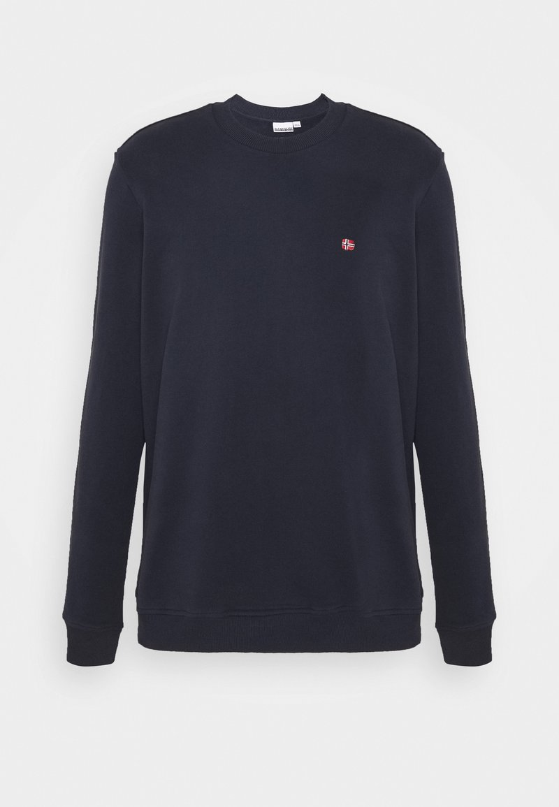 Napapijri BALIS CREW - Sweatshirt - black/schwarz aXjLbb