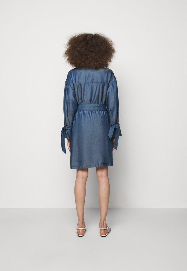 Sukienka jeansowa - denim blue