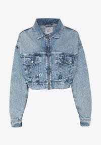 Pepe Jeans - DUA LIPA x PEPE JEANS - Kurtka jeansowa - moonwash-denim - 6