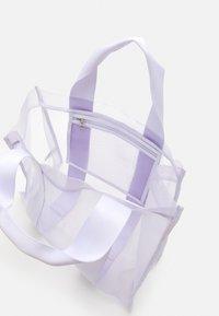Weekday - CARLA TOTEBAG - Tote bag - purple - 2