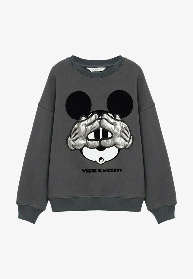 MICKEY - Pullover - antraciet