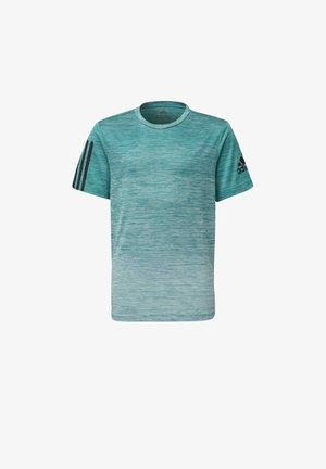 GRADIENT T-SHIRT - Print T-shirt - green