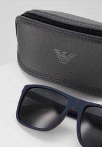 Emporio Armani - Sunglasses - top blue/brown rubber - 4