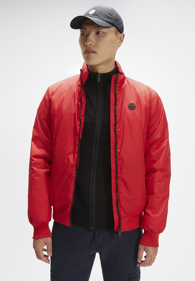 Bomber Jacket - chinese red