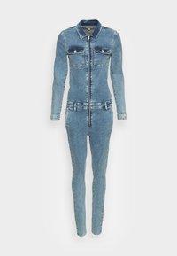 ONLY - ONLCALLI JUMPSUIT - Jumpsuit - light blue denim - 3