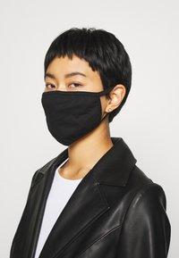 Icon Brand - COMMUNITY MASK - Masque en tissu - black - 0