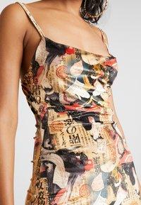 NEW girl ORDER - ORIENTAL PRINT DRESS STRAPS - Fodralklänning - multi - 6