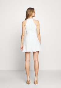 Nly by Nelly - ADORABLE SPORTSCUT DRESS - Day dress - white - 2