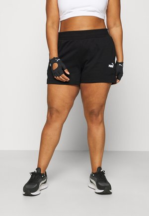 SHORTS PLUS - Sports shorts - black