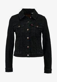 Levi's® - ORIGINAL TRUCKER - Giacca di jeans - black - 3