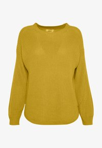 ONLY - ONLARONA - Sweter - misted yellow - 4