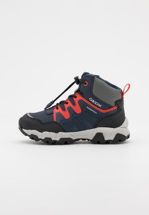 MAGNETAR BOY WPF - Lace-up ankle boots - navy/red