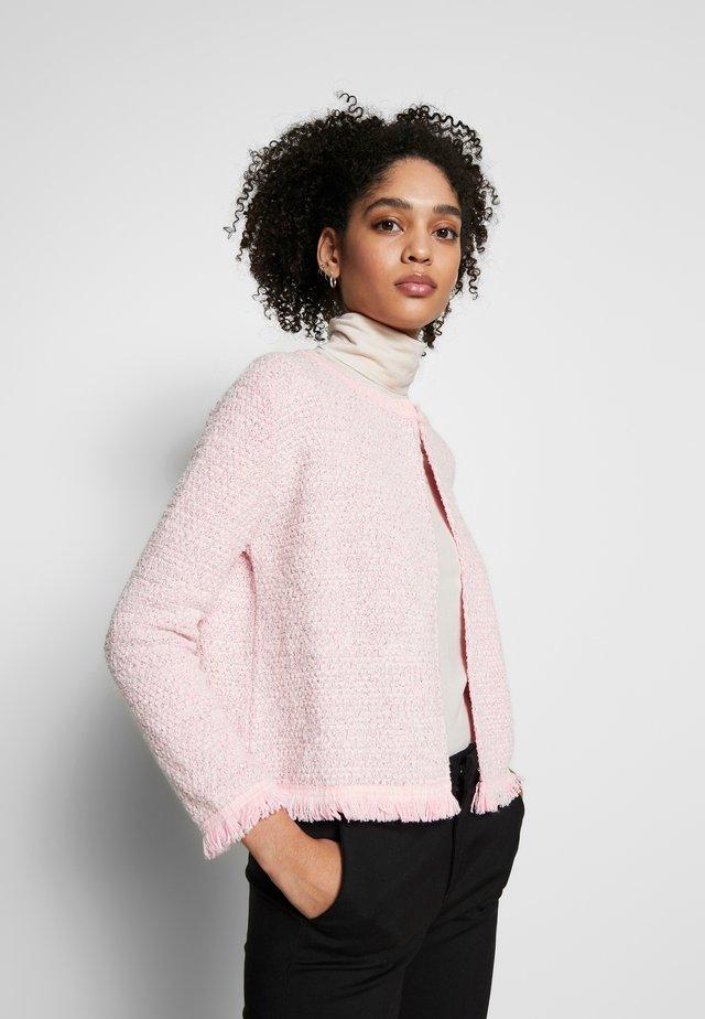 Chaqueta de punto - spring pink