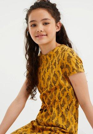 Denní šaty - ochre yellow